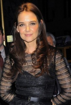 Look of the Day: Katie Holmes Opens Up in Dolce & Gabbana and Valentino
