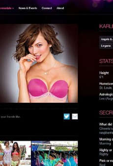 Karlie Kloss Officially Has Her Victoria's Secret Angel Wings (Forum Buzz)