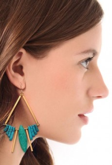 Statement Earrings Make a Spring Comeback
