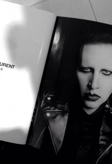 The New Face of Saint Laurent Mens? Marilyn Manson