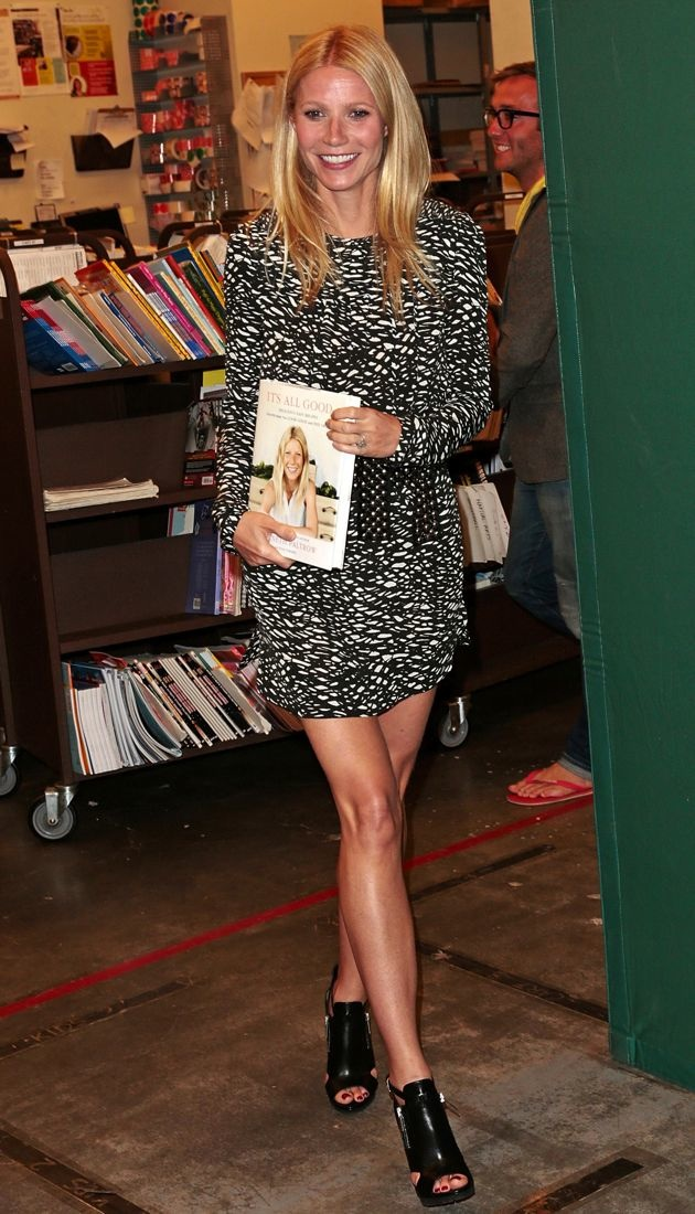 Gwyneth Paltrow Book Signing Los Angeles