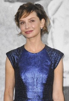 Look of the Day: Calista Flockhart Makes an Impression in Monique Lhuillier