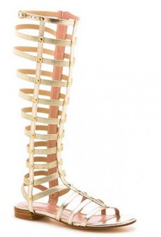 The Gladiator Boot: Stomp Your Way Through Spring
