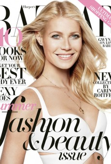 Gwyneth Paltrow Comes Out as a Smoker (Sort Of) in Harper's Bazaar