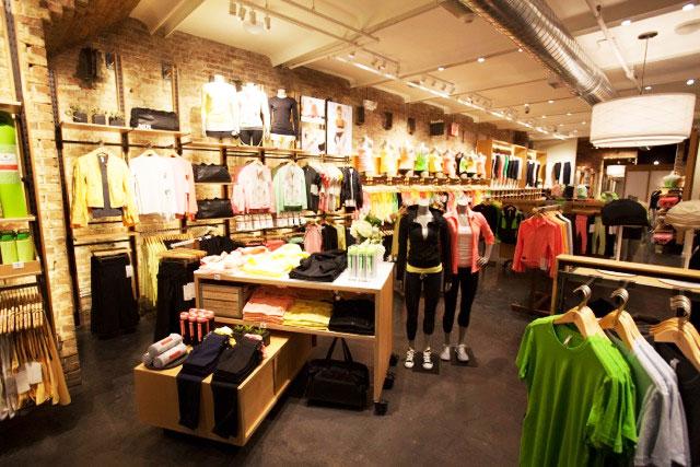 Inside lululemon s sleek new meatpacking district store