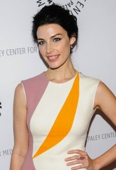 Look of the Day: Jessica Paré's Paneled Roksanda Ilincic Efra Dress