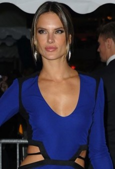 Alessandra Ambrosio Gets Decked Out in Roberto Cavalli for Cannes Yacht Party