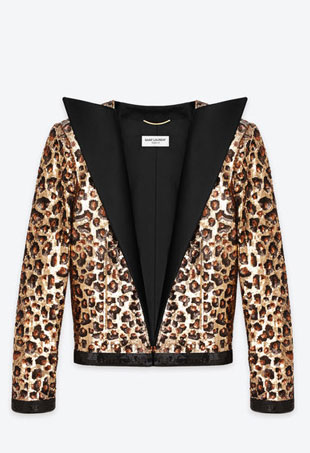 This 80% Polyester Saint Laurent Jacket Costs $61K