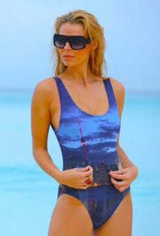 Sizzling Swimwear Designer, Tosca Delfino