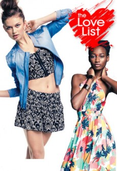 Teen Vogue at Macy&#8217;s Mstylelab: The Love List