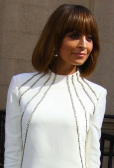 Look of the Day: Nicole Richie Looks White Hot in Saint Laurent