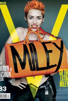 My Condolences to Miley Cyrus Fans (V Magazine Summer 2013)
