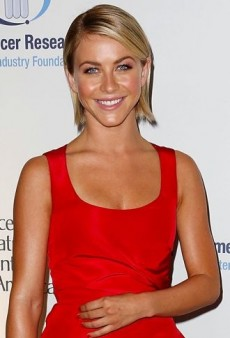 Look of the Day: Julianne Hough's Stunning Red Carolina Herrera Pre-Fall 2013 Dress