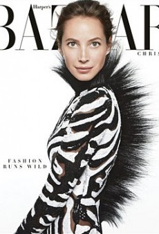 Christy Turlington Wears Tom Ford on the Cover of Harper's Bazaar… and it's Awesome (Forum Buzz)