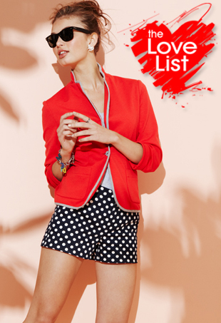 Keds for mstylelab: The Love List