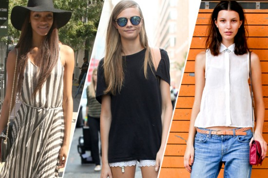 Models Off Duty: Cara Delevingne and Friends Show Us How to Do Summer Style Right