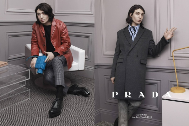 Prada Menswear F/W 13.14 by David Sims