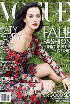 See Katy Perry's First US Vogue Cover (Photographed By Annie Leibovitz)