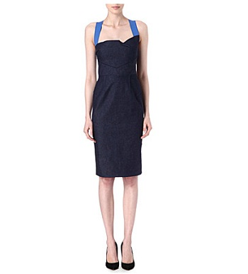 Roland Mouret denim dress