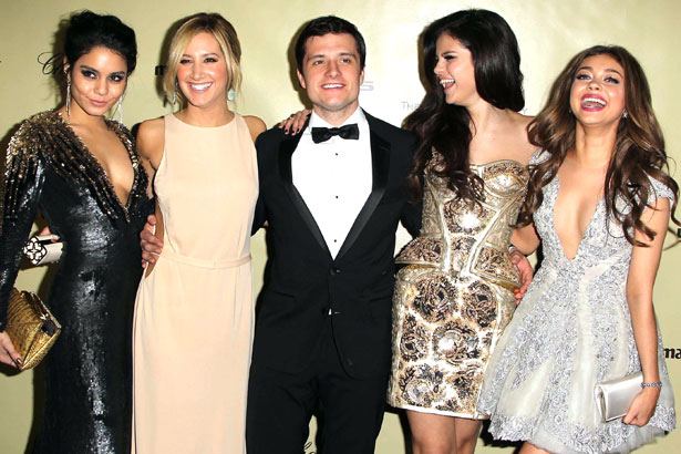 Vanessa Hudgens,Ashley Tisdale,Josh Hutcherson,Selena Gomez and Sarah Hyland, Credit :FayesVision/WENN.com