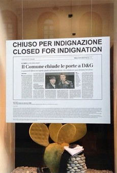 Link Buzz: Dolce & Gabbana Closes Milan Stores in Protest; Christy Turlington for Calvin Klein