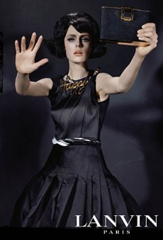Edie Campbell Models Lanvin's Fall 2013 Collection (Forum Buzz)