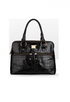 Modalu England Gives Its Iconic Pippa Grab Bag a Croc Finish for Fall
