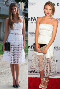 Seeing Double: Bianca Brandolini D'Adda and Dree Hemingway in Nothing But Net and More Matching Celebs