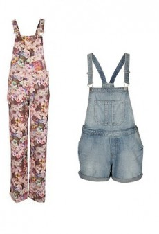 How to Work the Summer 2013 Dungaree Trend