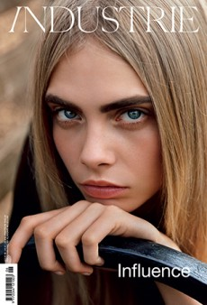 Industrie Magazine Gets Up Close with Cara Delevingne