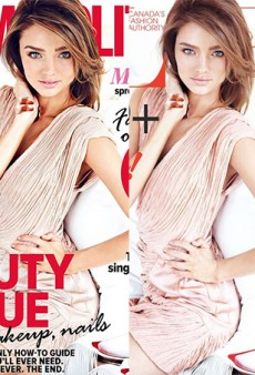 Cosmo Australia Recycles Flare Mag's 3-Year-Old Miranda Kerr Cover — Minus Some Photoshop