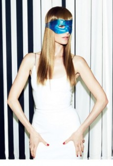 Emma Balfour Plays an American Psycho for 10 Magazine
