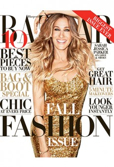 Terry Richardson Photographs Sarah Jessica Parker for Harper's Bazaar