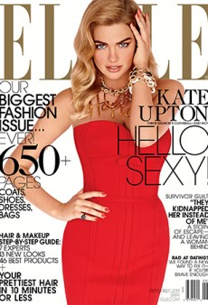 Kate Upton for ELLE: Too Early to Call It This Year's Best September Cover?
