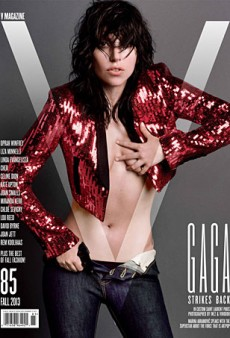 Lady Gaga Covers V Magazine's Fall 2013 Issue, Gets Naked As Usual (Forum Buzz)