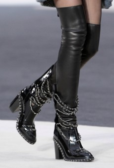 Runway Walking: Fall's Best Boots
