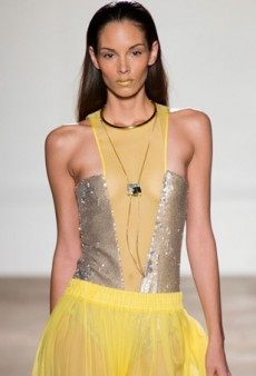 Aigner Spring 2014: Bright Luxury