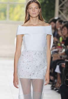 Balenciaga Spring 2014: An Impressive Sculpted Lineup