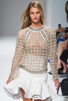 Balmain Spring 2014: Power Dressing with a Sexy Twist