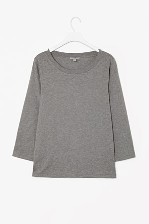 COS-3-quarter-sleeve-top