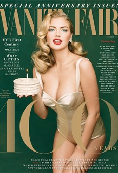 Kate Upton Channels (Wait for It) Marilyn Monroe for Vanity Fair's 100th Anniversary Issue