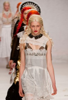 Meadham Kirchhoff Spring 2014: Mesmerizing But Lacking Wearability