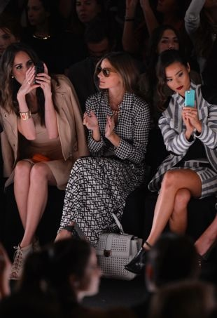 Louise-Roe-Olivia-Palermo-and-Jamie-Chung-Mercedes-Benz-New-York-Fashion-Week-Spring-2014-Rebecca-Minkoff-portrait-cropped
