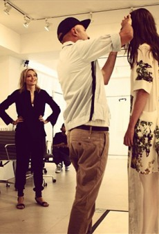 Lubov Azria: Behind the Scenes at BCBGMaxAzria and Herve Leger Spring 2014