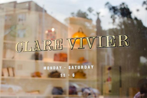 Clare Vivier LA Boutique