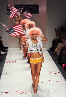 Betsey Johnson Tones Down Her Signature Quirk (Slightly) for Spring 2014