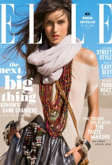 Gabby Westbrook-Patrick Scores Elle Australia's Debut Issue Cover (Forum Buzz)
