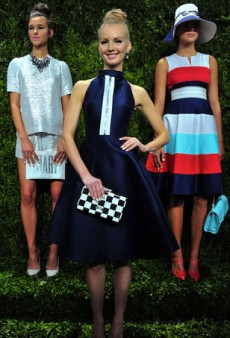 Kate Spade Spring 2014: Sophistication with a Very Quirky Twist