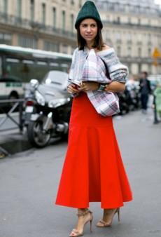 Paris Je T'Aime: Fashion Week Show-Goers Steal the Style Spotlight