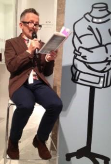 Simon Doonan Celebrates His New Book Over Skinny Gay Scones